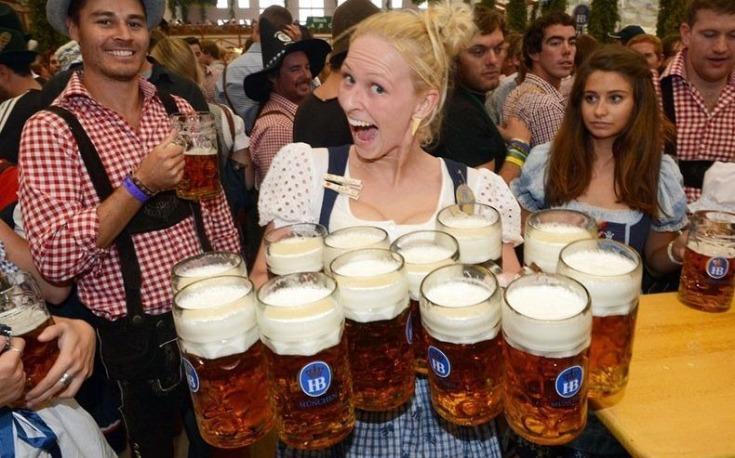 και πίνω μπύρες