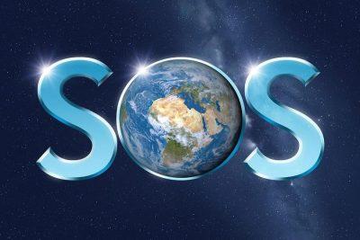 Ο πλανήτης Γη εκπέμπει SOS