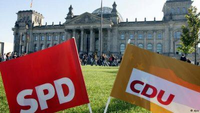 """Γερμανία:""""Λευκός καπνός"""" για κυβέρνηση μεγάλου συνασπισμού"""
