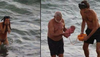 Απίστευτο: Γέννησε μέσα στην Ερυθρά Θάλασσα