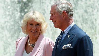 Ο πρίγκιπας Κάρολος και η Καμίλα στην Αθήνα