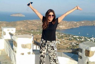 Πόπη Τσαπανίδου: Απόδραση σε νησί του Αιγαίου για την παρουσιάστρια