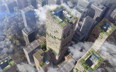 Ένας ουρανοξύστης ύψους 350 μέτρων από ξύλο στην Ιαπωνία