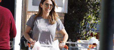 Έλλη Κοκκίνου: Για ψώνια στο σούπερ μάρκετ