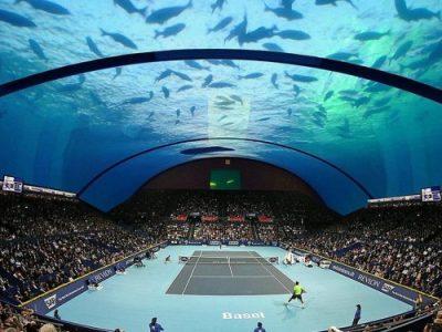 Υποθαλάσσιο γήπεδο τένις στο Ντουμπάι